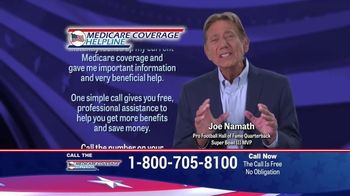 Medicare Coverage Helpline TV Spot, 'Medigap Coverage' Featuring Joe Namath - Thumbnail 6