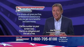 Medicare Coverage Helpline TV Spot, 'Medigap Coverage' Featuring Joe Namath - Thumbnail 7