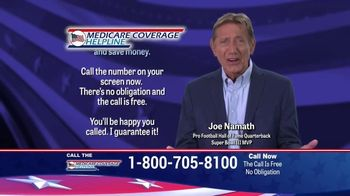 Medicare Coverage Helpline TV Spot, 'Medigap Coverage' Featuring Joe Namath - Thumbnail 8