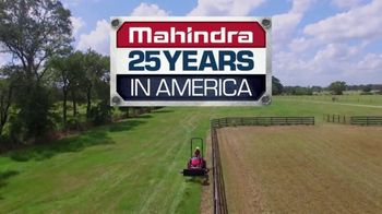 Mahindra 25 Years in America TV Spot, 'The American Dream' - 257 commercial airings