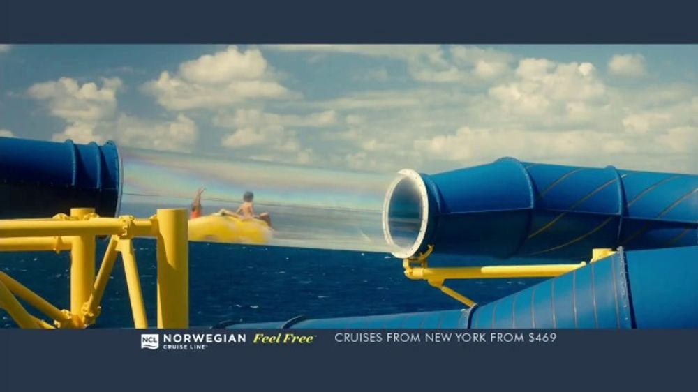 Norwegian Cruise Line Free At Sea TV Commercial, 'Five