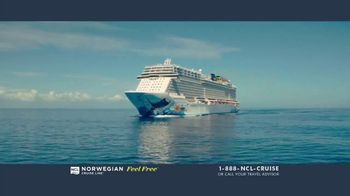 Norwegian Cruise Line Free at Sea TV Spot, 'Five Free Offers: New York: $469' Song by Andy Grammer - Thumbnail 1