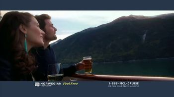 Norwegian Cruise Line Free at Sea TV Spot, 'Five Free Offers: New York: $469' Song by Andy Grammer - Thumbnail 2