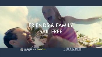 Norwegian Cruise Line Free at Sea TV Spot, 'Five Free Offers: New York: $469' Song by Andy Grammer - Thumbnail 5