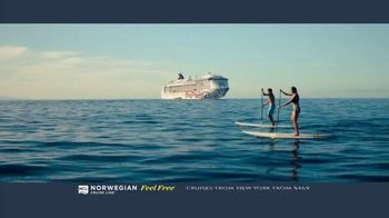 Norwegian Cruise Line Free at Sea TV Spot, 'Five Free Offers: New York: $469' Song by Andy Grammer - Thumbnail 6