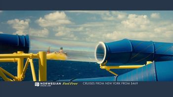 Norwegian Cruise Line Free at Sea TV Spot, 'Five Free Offers: New York: $469' Song by Andy Grammer - Thumbnail 8