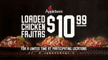 Applebee's Loaded Chicken Fajitas TV Spot, 'Smothered in Queso: $10.99' Song by Pat Benatar - Thumbnail 8