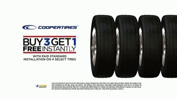 National Tire & Battery TV Spot, 'Cooper Tires: Buy Three, Get One Free and $50 Rebate' - Thumbnail 8