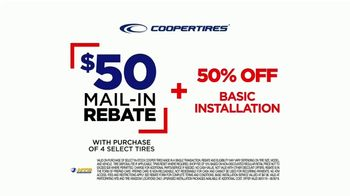 National Tire & Battery TV Spot, 'Cooper Tires: Buy Three, Get One Free and $50 Rebate' - Thumbnail 7