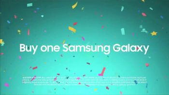 Samsung Galaxy S10e TV Spot, 'Happy Galaxy Day: Buy One Get One' - Thumbnail 1
