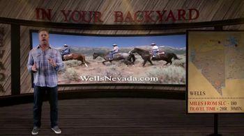Travel Nevada TV Spot, 'In Your Backyard: Wells' - Thumbnail 9