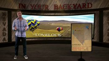 Travel Nevada TV Spot, 'In Your Backyard: Lovelock'