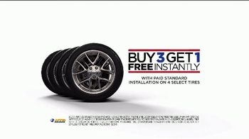 National Tire & Battery TV Spot, 'Buy Three, Get One Free: Top Brands' - Thumbnail 4
