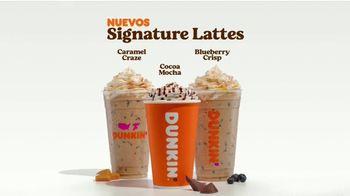 Dunkin' Donuts Signature Lattes TV Spot, 'Nuevas creaciones' [Spanish] - Thumbnail 8