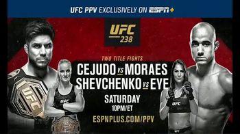 ESPN+ TV Spot, 'UFC 238: Two Championship Fights' - Thumbnail 10