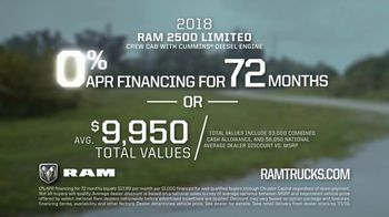 2018 Ram 2500 Limited TV Spot, 'Mastery Tagged' Song by Vitamin String Quartet [T1] - Thumbnail 9