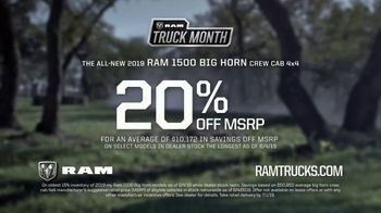 Ram Truck Month TV Spot, 'On to Bigger Things: The Next Tagged' Song by Vitamin String Quartet [T2] - Thumbnail 9