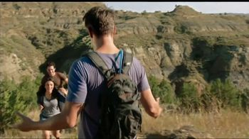 North Dakota Tourism Division TV Spot, 'Theodore Roosevelt National Park' Feat. Josh Duhamel - Thumbnail 1