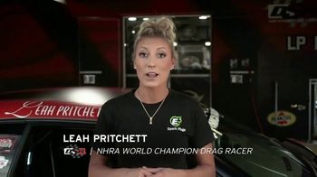 E3 Spark Plugs TV Spot, 'Diamond Fire' Featuring Leah Pritchett