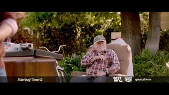 GreatCall Jitterbug Smart2 TV Spot, 'Father's Day: Yard Sale' Featuring John Walsh - Thumbnail 2