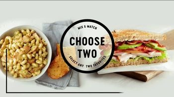 Corner Bakery Choose Two TV Spot, 'Making Your Choice Simple'