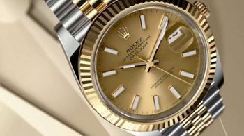Rolex Datejust 41 TV Spot, 'Perpetual' - Thumbnail 1