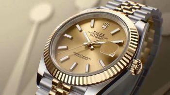 Rolex Datejust 41 TV Spot, 'Perpetual'