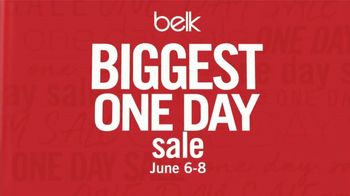 Belk Biggest One Day Sale TV Spot, 'Doorbusters: Summer Fashion & Shorts' - Thumbnail 2