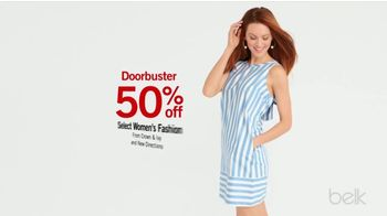 Belk Biggest One Day Sale TV Spot, 'Doorbusters: Summer Fashion & Shorts'