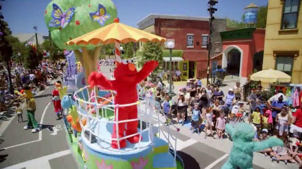 SeaWorld TV Commercial, 'All That's New: Infinity Falls, Sesame Street Land'