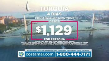 Costamar Travel TV Spot, 'Cuzco, Turquía, México y El Salvador' [Spanish] - Thumbnail 4