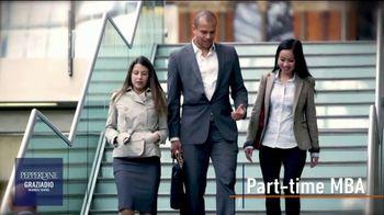 Pepperdine University Graziadio Business School TV Spot, 'Part-Time MBA'