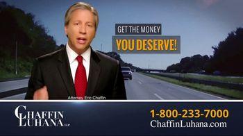Chaffin Luhana TV Spot, 'Careless Truck Driver'