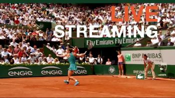 Tennis Channel Plus TV Spot, 'Road to Roland Garros: Main Draw Matches' - Thumbnail 2