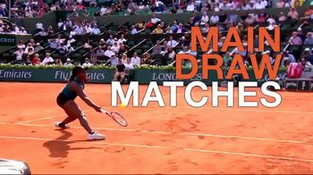 Tennis Channel Plus TV Spot, 'Road to Roland Garros: Main Draw Matches' - Thumbnail 8