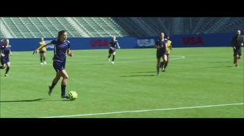 Hulu TV Spot, 'The U.S. Team's New Goal Celebration' Featuring Mia Hamm, Abby Wambach - Thumbnail 1