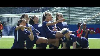 Hulu TV Spot, 'The U.S. Team's New Goal Celebration' Featuring Mia Hamm, Abby Wambach