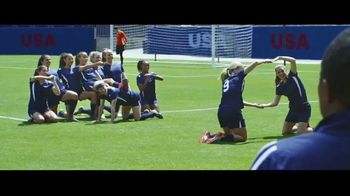Hulu TV Spot, 'The U.S. Team's New Goal Celebration' Featuring Mia Hamm, Abby Wambach - Thumbnail 7
