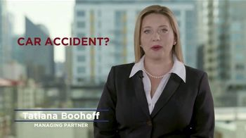 Boohoff Law TV Spot, 'Limited Mobility'
