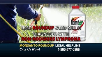 Dampier Law Firm TV Spot, 'Monsanto Roundup and Non-Hodgkins Lymphoma'