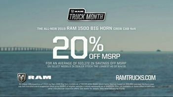 Ram Truck Month TV Spot, 'On to Bigger Things: Everything' Song by Vitamin String Quartet [T2] - Thumbnail 9