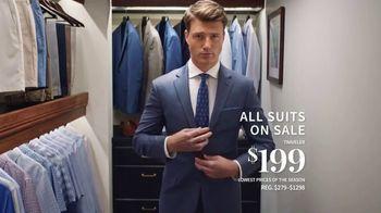 JoS. A. Bank Super Tuesday Sale TV Spot, 'June 2019: Suits & Dress Shirts' - Thumbnail 3