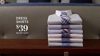 JoS. A. Bank Super Tuesday Sale TV Spot, 'June 2019: Suits & Dress Shirts' - Thumbnail 4