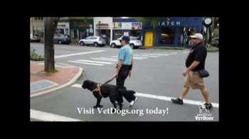 America's VetDogs TV Spot, 'Train and Place Service Dogs' Featuring Carson Daly - Thumbnail 3