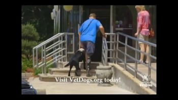 America's VetDogs TV Spot, 'Train and Place Service Dogs' Featuring Carson Daly - Thumbnail 8