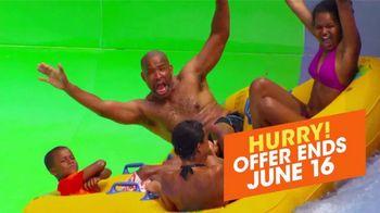 Six Flags TV Spot, 'Hurricane Harbor Splashtown: Save 50 Percent' - Thumbnail 6
