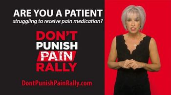Don't Punish Pain Rally TV Spot, 'Struggling to Receive Pain Medication?'