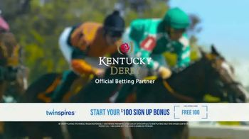 Twin Spires TV Spot, 'Belmont Stakes: Sign Up Bonus'
