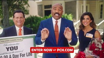 Publishers Clearing House TV Spot, 'Win $1,000 a Day for Life: Last Chance Alert' Feat. Steve Harvey - Thumbnail 1
