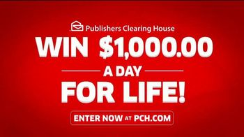 Publishers Clearing House TV Spot, 'Win $1,000 a Day for Life: Last Chance Alert' Feat. Steve Harvey - Thumbnail 2